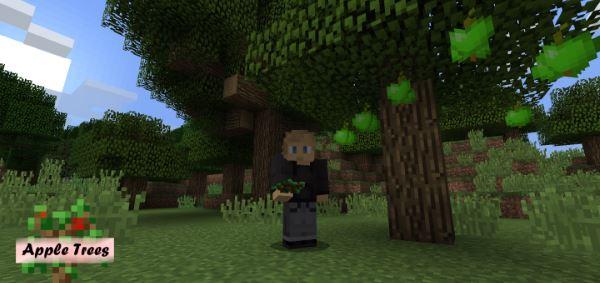 Apple Trees для Майнкрафт 1.11.2