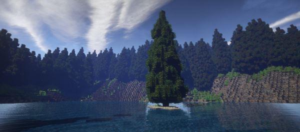 The Black Forest для Майнкрафт 1.10.2