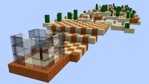 Sky Desert Challenge для Майнкрафт 1.11.2