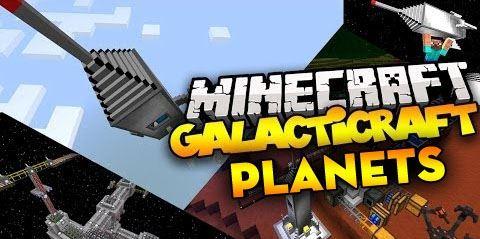 Galacticraft для Майнкрафт 1.8.9