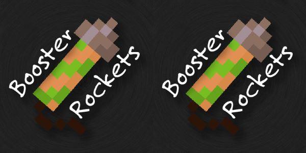 Booster Rockets для Майнкрафт 1.10.2