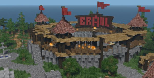 Brawl Games для Майнкрафт 1.11.2
