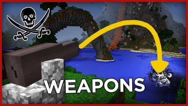 Pirate Weapons для Майнкрафт 1.11.2