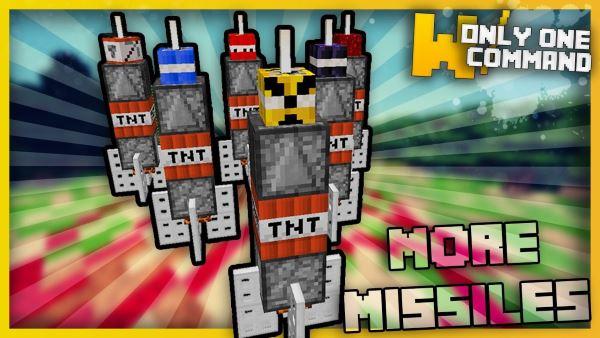 Destructive Missiles для Майнкрафт 1.11.2