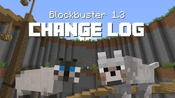 Blockbuster для Майнкрафт 1.11.2