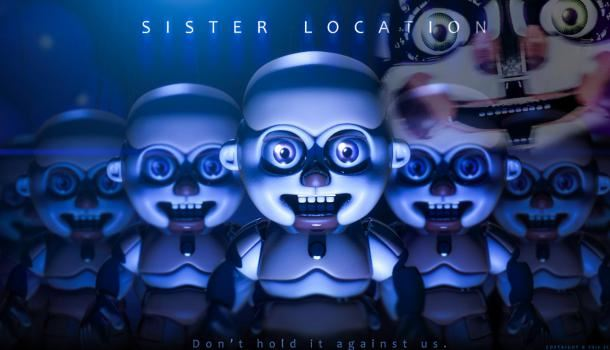 NoDVD для Five Nights at Freddy's: Sister Location v 1.0