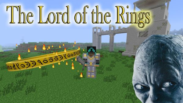 The Lord of the Rings для Майнкрафт 1.7.10