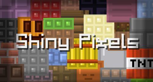 Shiny Pixels для Майнкрафт 1.11.2