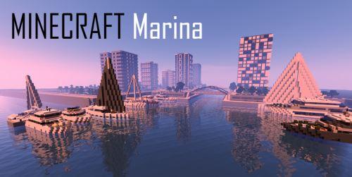 Minecraft Marina для Майнкрафт 1.11.2