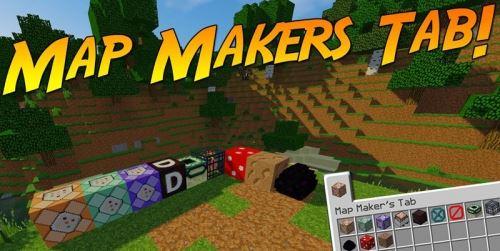 Map Maker's Tab для Майнкрафт 1.11.2