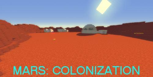 Mars: Colonization для Майнкрафт 1.10.2