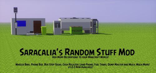 Saracalia's Random Stuff для Майнкрафт 1.10.2