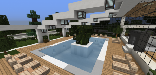 Modern Hotel для Майнкрафт 1.11.2