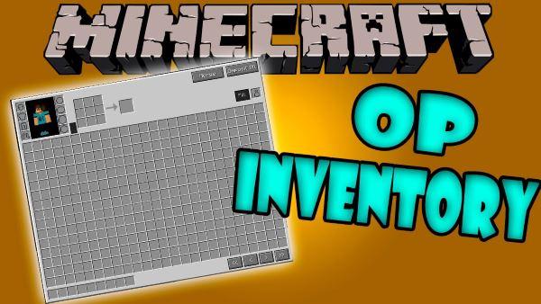 Overpowered Inventory для Майнкрафт 1.11.2