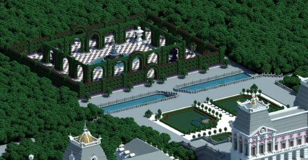 Dyanusia Palace для Майнкрафт 1.11.2