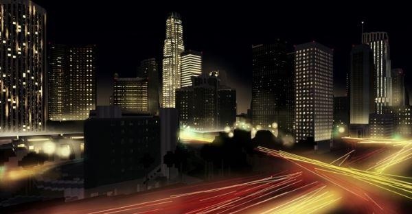 Downtown Los Angeles для Майнкрафт 1.11.2