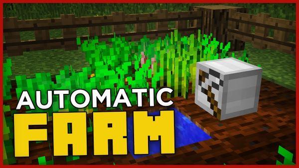 Automatic Farm для Майнкрафт 1.11.2