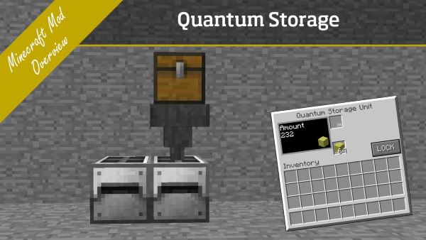 Quantum Storage для Майнкрафт 1.11.2