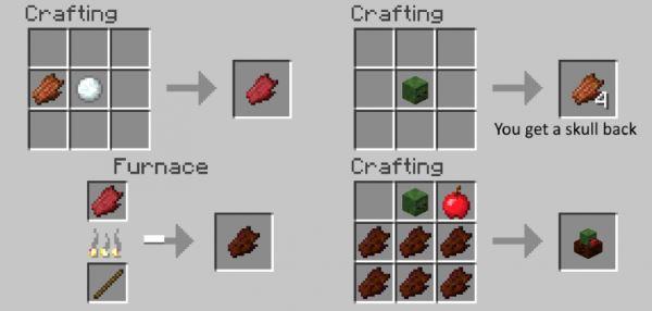 Zombie Steaks для Майнкрафт 1.11.2