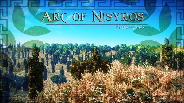 Arc of Nisyros для Майнкрафт 1.10.2