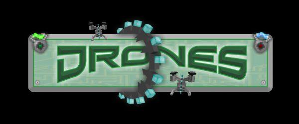 Drones для Майнкрафт 1.10.2