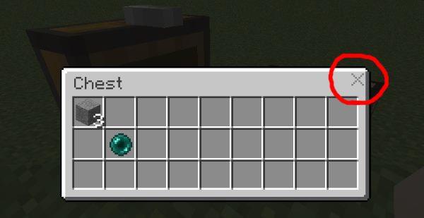 Inventory X для Майнкрафт 1.11.2