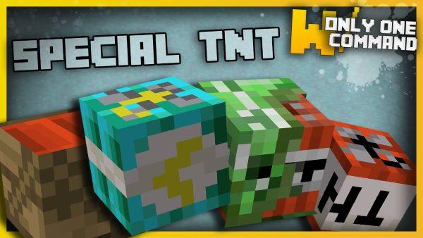 Special TNT для Майнкрафт 1.11.2