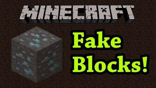 Fake Blocks для Майнкрафт 1.11.2