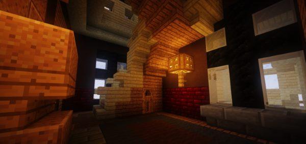 Whiterock Palace для Майнкрафт 1.11.2