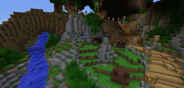 Taule Land для Майнкрафт 1.11.2