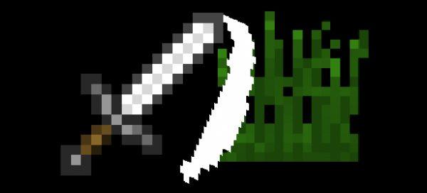 SwingThroughGrass для Майнкрафт 1.11.2