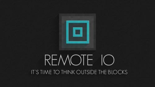 Remote IO для Майнкрафт 1.11.2