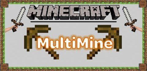 Multi Mine для Майнкрафт 1.11.2