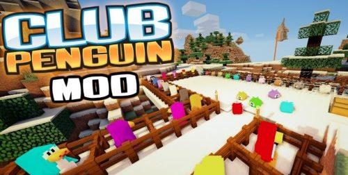 Club Penguin для Майнкрафт 1.11.2