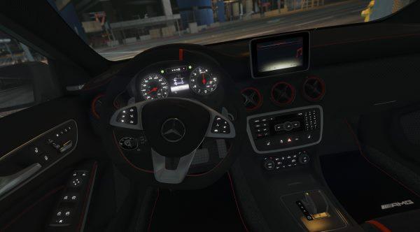2017 Mercedes-AMG A45 W176 [Add-On / Replace | Template] 1.2 для GTA 5