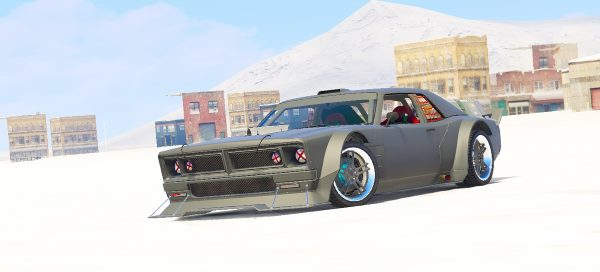 Dodge Charger - Dominic Toretto / Fast And Furious 8 [Menyoo] для GTA 5