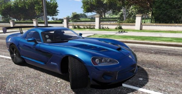 Dodge Viper SRT-10 ACR [Add-On | Template | Livery] 0.5 [BETA] для GTA 5