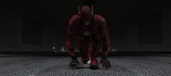 "The Flash & SFX (Ezra Miller ""Justice League"" 2017) [Add-On / Replace Ped] 2.0 для GTA 5"