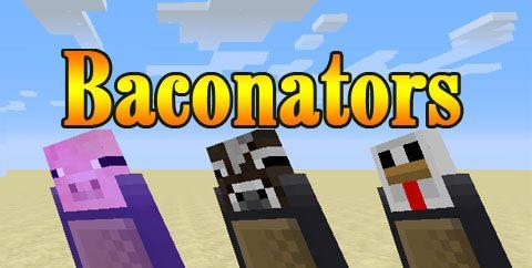 Baconators для Майнкрафт 1.11.2
