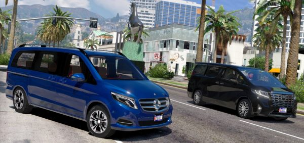 Mercedes-Benz V250 Bluetec [FINAL] для GTA 5