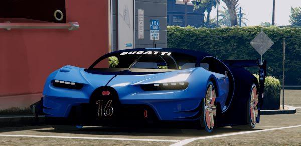 Bugatti Vision GT для GTA 5