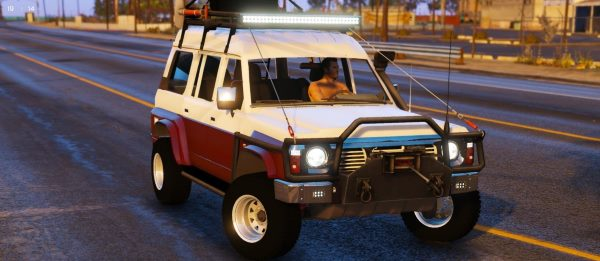 Nissan Patrol Safari Y60 Off Road 1996 [Replace | 8 Extras] для GTA 5