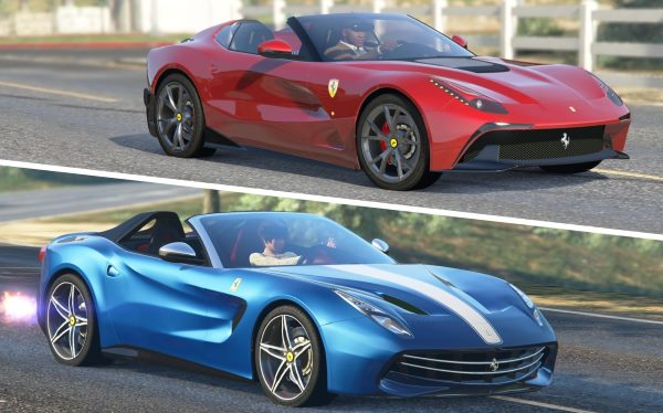 Ferrari F60 America & F12 TRS (2 Cars Pack) [Add-On | Tuning | Livery] 1.3 для GTA 5
