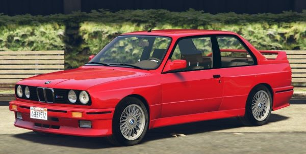 1991 BMW E30 M3 [Add-On / Replace | Livery] 1.4 для GTA 5