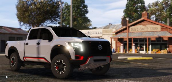 Nissan Titan Warrior 2017 [Replace] для GTA 5