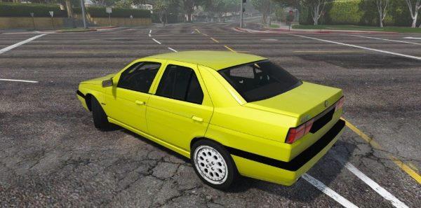 1992 Alfa Romeo 155 Q4 [Add-On] для GTA 5