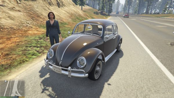 1963 Volkswagen Beetle [Add On / Replace] 2.0.0 для GTA 5