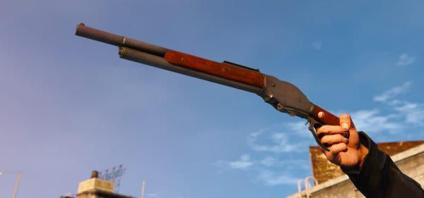 Winchester T-2 для GTA 5
