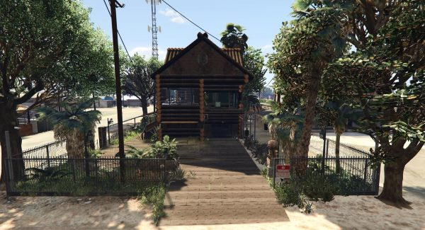 Trevor's Log House 1.1 для GTA 5