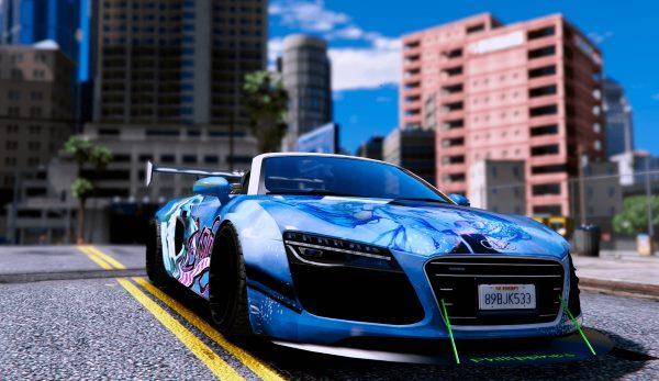 Audi Spyder V10 [Replace] [BETA] для GTA 5